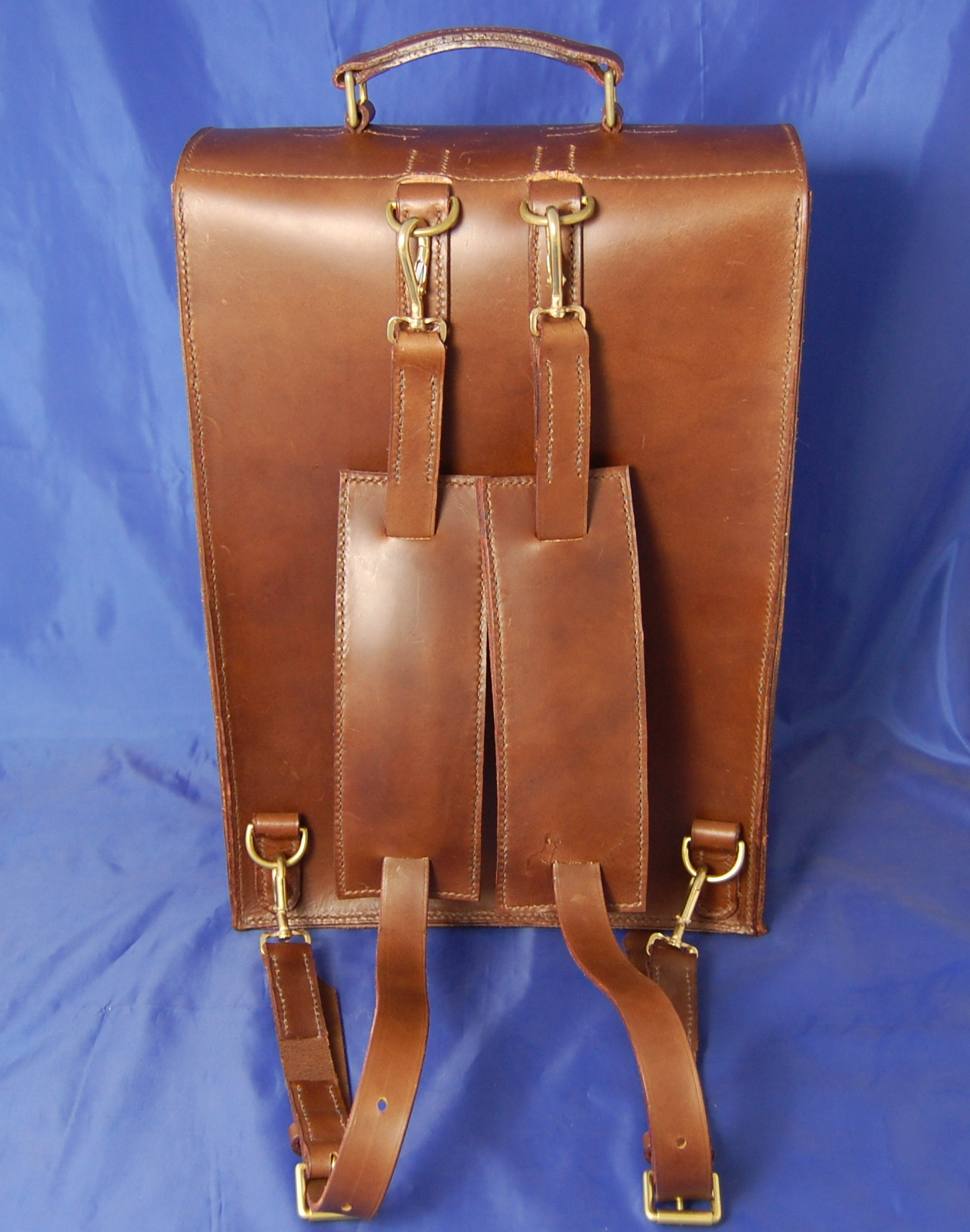 Hand Sewn Leather Backpack | tomgreencraft.com