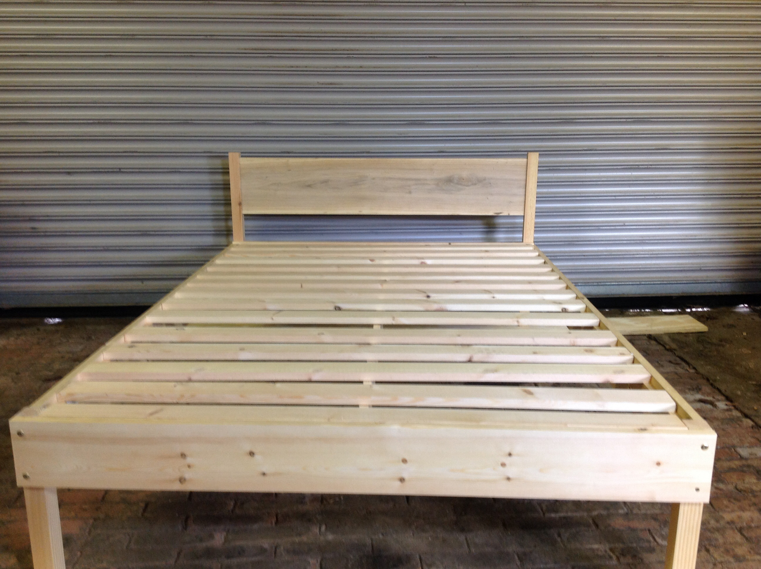Handmade Wooden Bed Frame Tomgreencraft Com